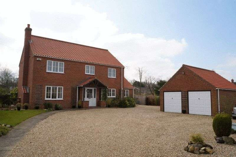 4 Bedrooms Detached House for sale in Ford Way, Goulceby