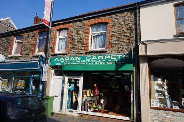 Commercial Property for sale in 12 Hanbury Road, BARGOED, Caerphilly