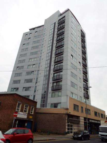 1 Bedroom Flat for sale in Cranbrook House, Cranbrook Street, Nottingham, Nottinghamshire