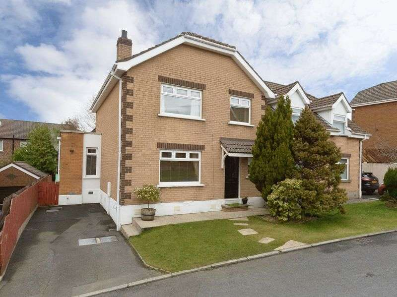 3 Bedrooms Semi Detached House for sale in 18 Windermere Crescent, Belfast, BT8 6XY