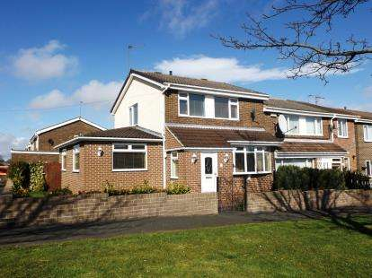 3 Bedrooms Semi Detached House for sale in Copeland Road, West Auckland, Bishop Auckland, Durham
