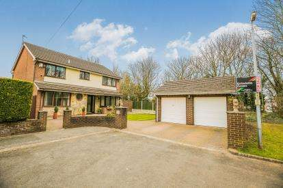 4 Bedrooms Detached House for sale in Hooton Way, Hooton, Ellesmere Port, Cheshire, CH66
