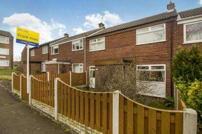 2 Bedrooms Terraced House for sale in Rodsley Close, Holme Hall, Chesterfield, Derbyshire