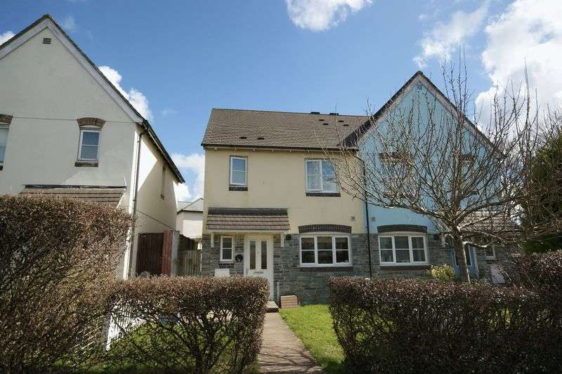 3 Bedrooms Semi Detached House for sale in Chestnut Grove, Bodmin