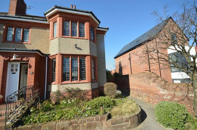 3 Bedrooms Semi Detached House for sale in Lingdale Road, West Kirby