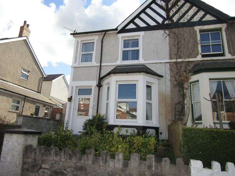 3 Bedrooms Terraced House for sale in Grove Park West, Colwyn Bay