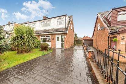 3 Bedrooms Semi Detached House for sale in Silverthorne Close, Stalybridge, Greater Manchester, United Kingdom