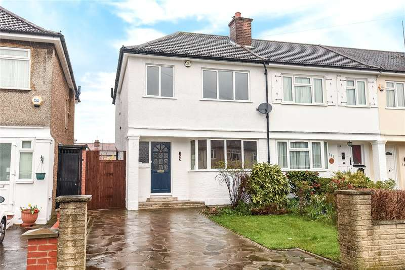 3 Bedrooms End Of Terrace House for sale in Waverley Road, Harrow, Middlesex, HA2