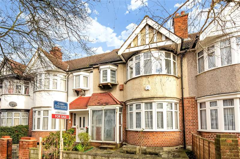3 Bedrooms Terraced House for sale in Victoria Road, South Ruislip, Middlesex, HA4