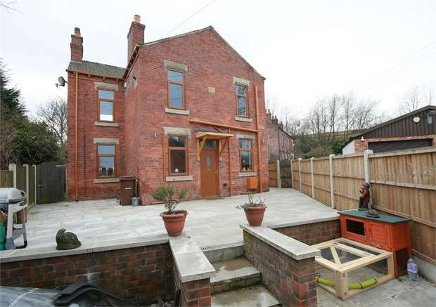 4 Bedrooms Detached House for sale in Lingwell Gate Lane, Lofthouse, Wakefield, West Yorkshire