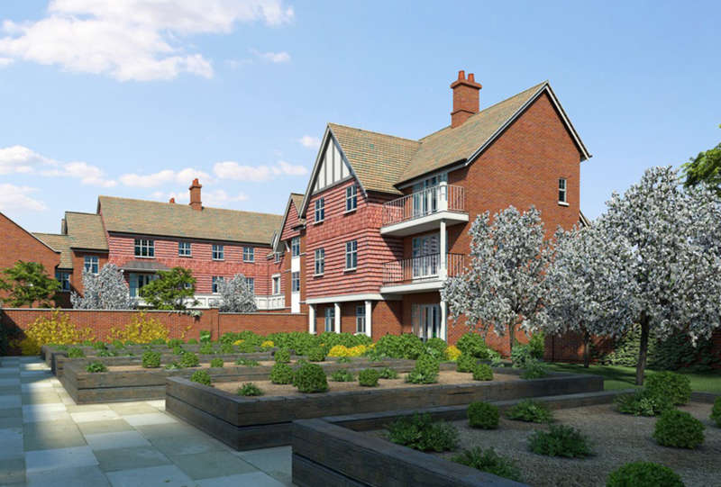 2 Bedrooms Ground Flat for sale in Walmsley Place, Bishops Waltham