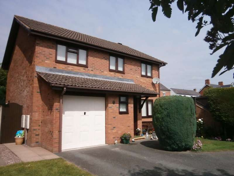 4 Bedrooms Detached House for sale in Victoria Fields, Oswestry, SY11