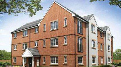 1 Bedroom Flat for sale in Oakbrook, Milton Keynes, Buckinghamshire
