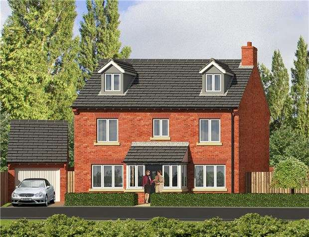 5 Bedrooms Detached House for sale in Plot 5, Robinswood Hill Farm, Reservoir Road, GLOUCESTER, GL4 6SX