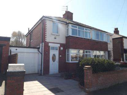 3 Bedrooms Semi Detached House for sale in Oregon Avenue, Blackpool, Lancashire, FY3