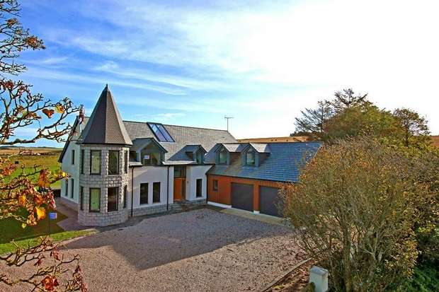 6 Bedrooms Detached House for sale in Red Bog Farm, Longside, Peterhead, Aberdeenshire