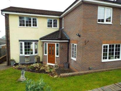 5 Bedrooms Detached House for sale in Harrison Row, Garth, Llangollen, Wrecsam, LL20