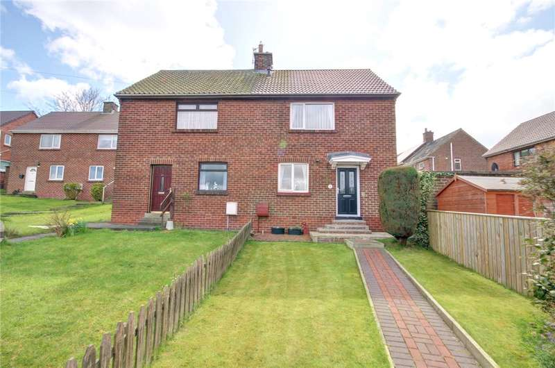 2 Bedrooms Semi Detached House for sale in Springwell Avenue, Langley Park, Durham, DH7