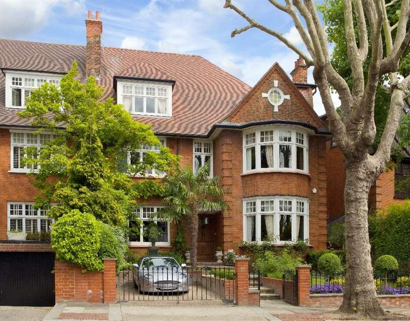 6 Bedrooms House for sale in Rosecroft Avenue, Hampstead, NW3