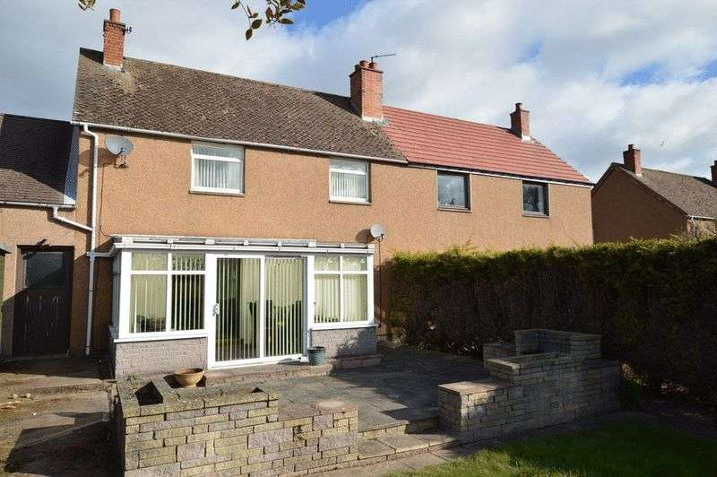 3 Bedrooms Semi Detached House for sale in 7 Wheatriggs Avenue, Milfield, Wooler