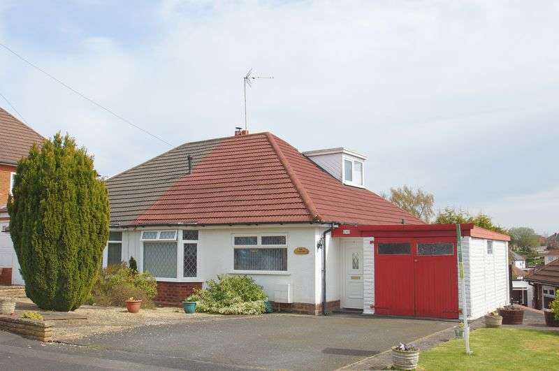 3 Bedrooms Semi Detached Bungalow for sale in Mason Close, Headless Cross, Redditch, Worcestershire