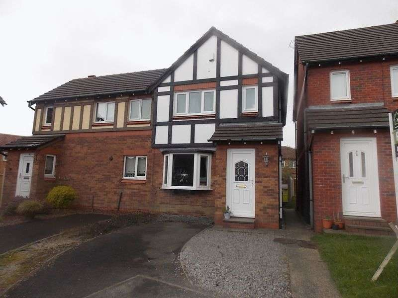 2 Bedrooms Semi Detached House for sale in Troon Close, Beaumont Chase