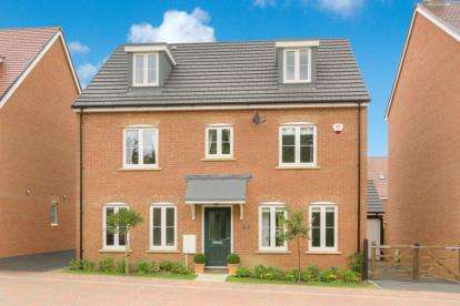 5 Bedrooms Detached House for sale in Tahiti Row, Newton Leys, Bletchley, Milton Keynes