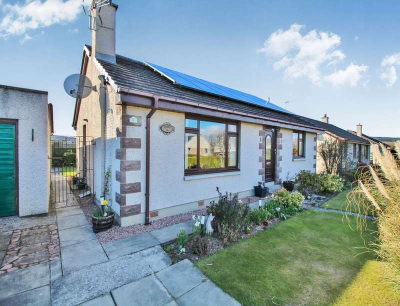 3 Bedrooms Detached Bungalow for sale in Old Milnafua Road, Alness, IV17