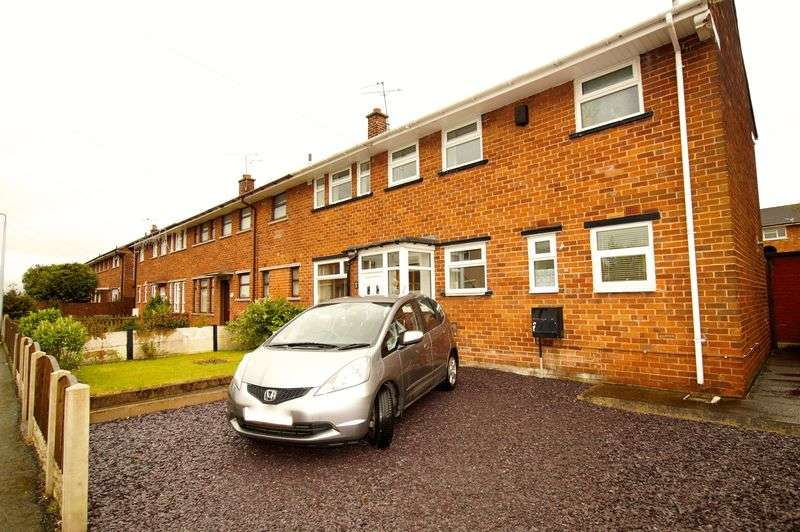 3 Bedrooms Semi Detached House for sale in Ceiriog Road, Wrexham