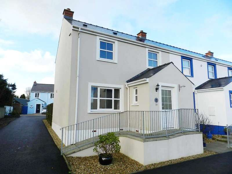 2 Bedrooms End Of Terrace House for sale in Hall Court, Johnston, Haverfordwest