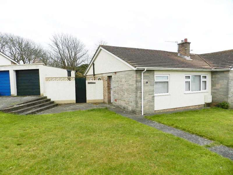 2 Bedrooms Semi Detached Bungalow for sale in Maes Dyfed, St. Davids, Haverfordwest