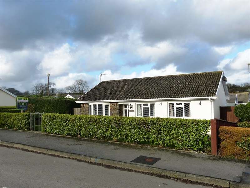 3 Bedrooms Detached Bungalow for sale in Sentence Gardens, Templeton, Narberth