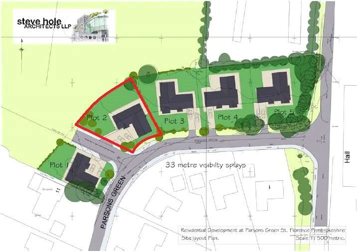 Land Commercial for sale in Plot 2, South Of Plough Penny Field, Parsons Green, St. Florence