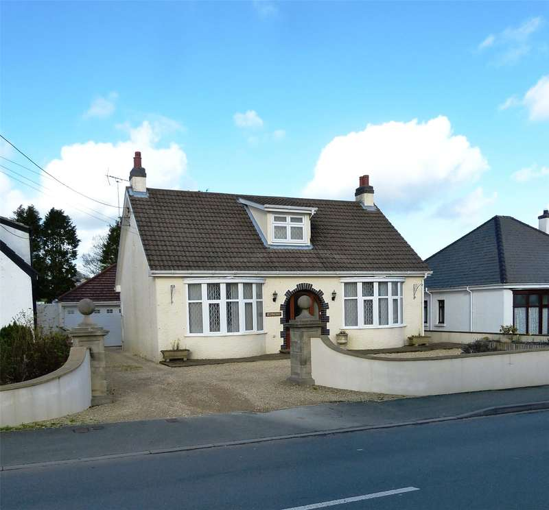 5 Bedrooms Detached Bungalow for sale in Inglenook, Jesse Road, Narberth, Pembrokeshire