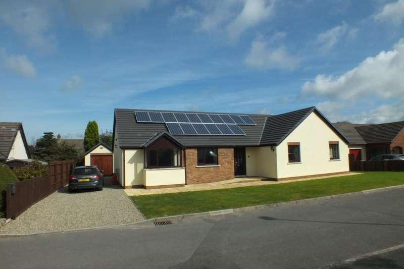 4 Bedrooms Detached Bungalow for sale in Milton Meadows, Tenby, Pembrokeshire