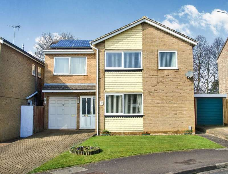 4 Bedrooms Detached House for sale in Sherborne Road, Peterborough, PE1