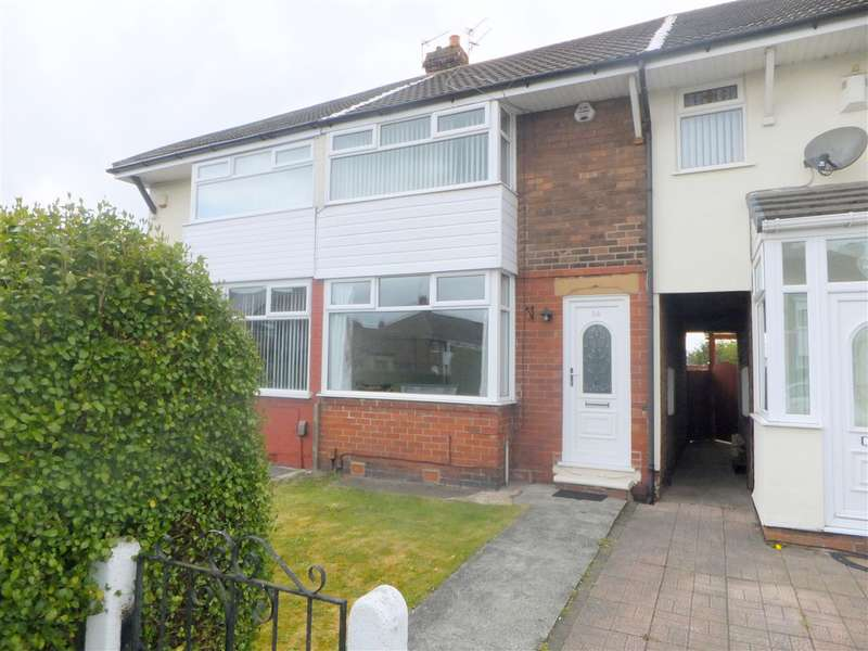 2 Bedrooms Terraced House for sale in Chatsworth Road, Rainhill, Prescot