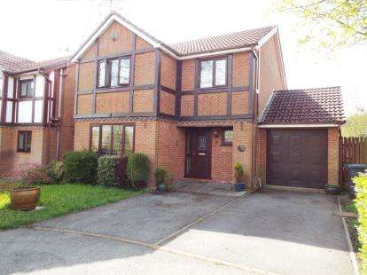 4 Bedrooms Detached House for sale in Tiverton Close, Radcliffe, Manchester, Greater Manchester