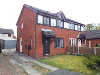 3 Bedrooms Semi Detached House for sale in Larchwood, Ashton-on-Ribble, Preston, Lancashire, PR2