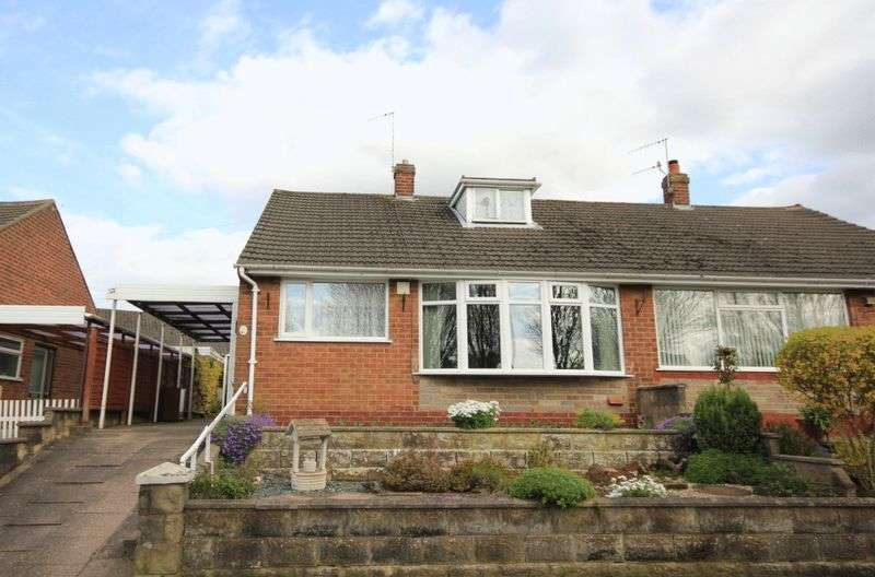 2 Bedrooms Semi Detached Bungalow for sale in Danehill Grove, Hanford