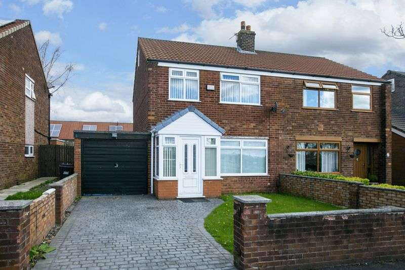 3 Bedrooms Semi Detached House for sale in Mornington Road, Hindley Green, WN2 4LG