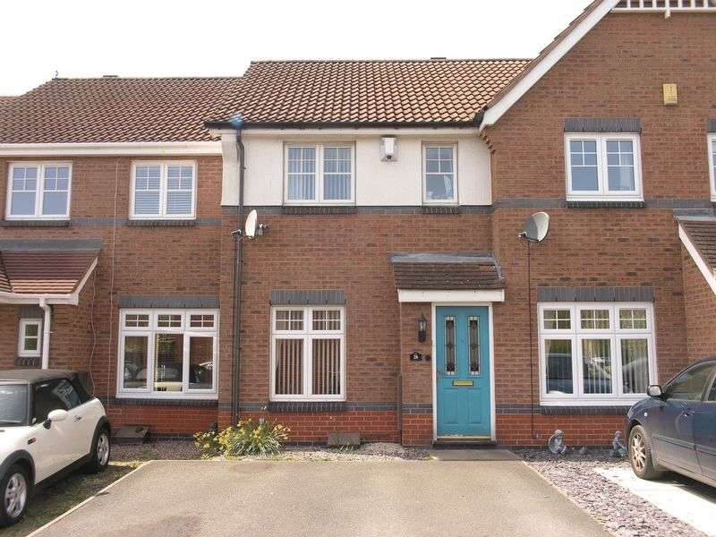 2 Bedrooms Terraced House for sale in Painters Croft, Coseley