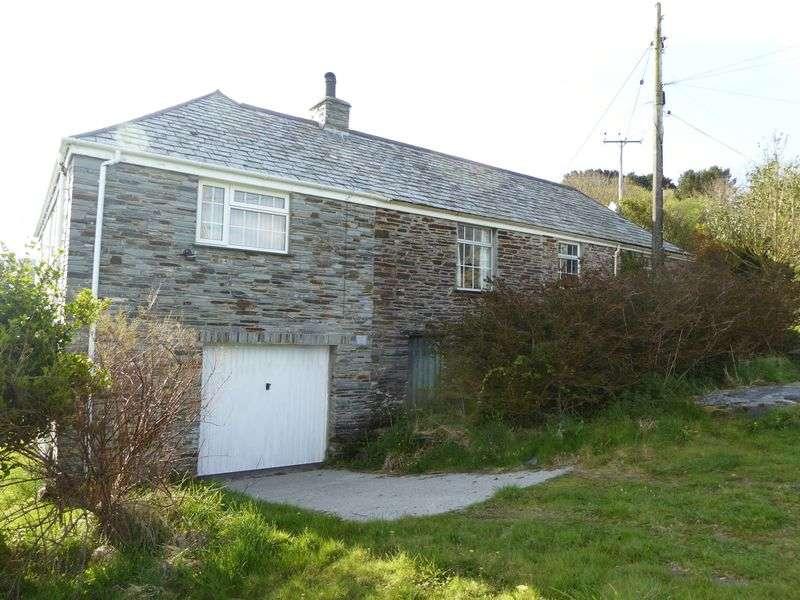 3 Bedrooms Detached House for sale in Trevillett, Tintagel