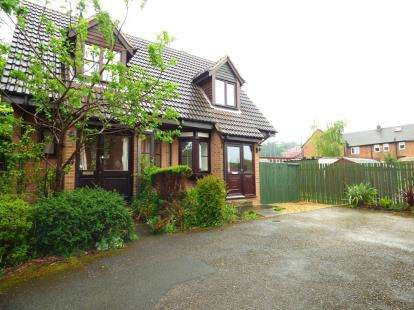 2 Bedrooms Semi Detached House for sale in School Green, Clutton, Chester, Cheshire, CH3