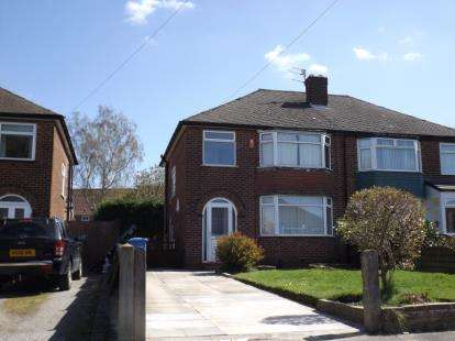 3 Bedrooms Semi Detached House for sale in Faulkner Drive, Timperley, Altrincham, Greater Manchester