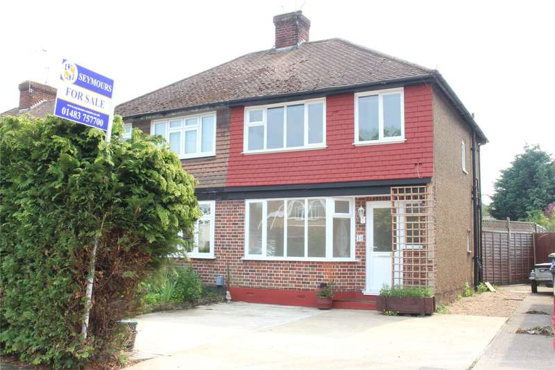 2 Bedrooms Semi Detached House for sale in Fairfax Road, Woking, Surrey, GU22