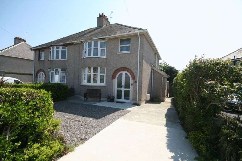 3 Bedrooms Semi Detached House for sale in Cyttir Road, Holyhead, Anglesey