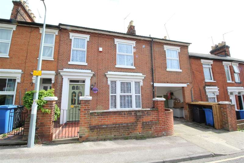 4 Bedrooms House for sale in Hervey Street, Ipswich