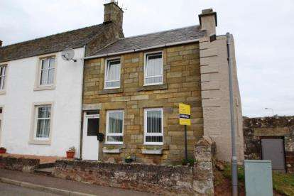 1 Bedroom End Of Terrace House for sale in High Street, Strathmiglo