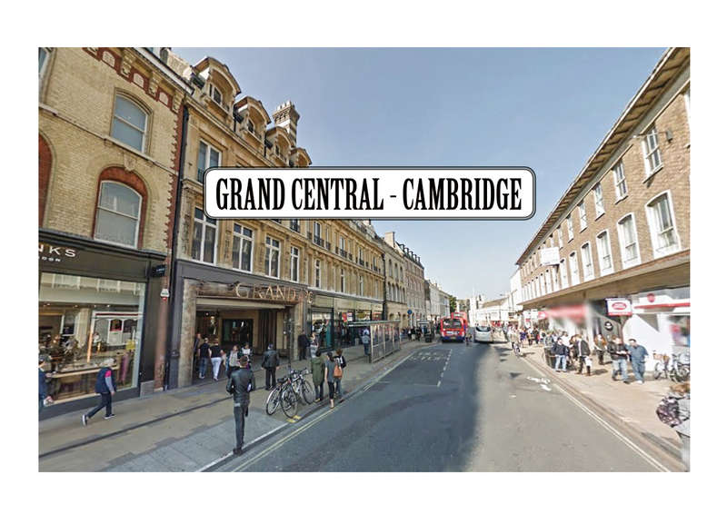 2 Bedrooms Flat for sale in Grand Central, Rustat Road, Cambridge